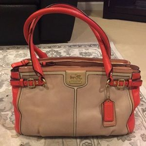 Coach Multicolor Leather Purse